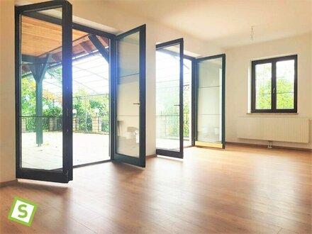 Wels - Exklusive, sonnige Terassenwohnung (97+80 m2)