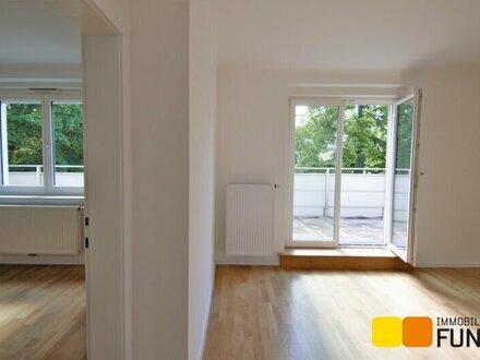 Erstbezug nach Sanierung: 2-Zimmer-Terrassenwohnung in Grün-Ruhelage