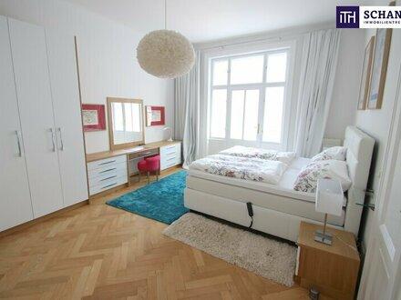 Voll möblierte Luxus-Wohnung in repräsentativen Gründerzeithaus!