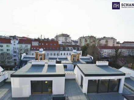 Größe spielt doch eine Rolle... Riesige Dachterrasse + Hofruhelage + Stylisches Dachgeschoss! Besser geht´s nicht.....
