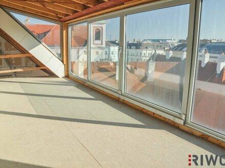 Dachterrassenwohnung mit ca. 200m²! Ausbau nach Mieterwunsch! Toplage beim Stubentor!