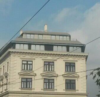 WG geeignet! Helle 3 Zimmer im Dachgeschoss mit 2 Terrassen direkt beim Augarten!