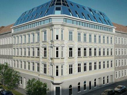 Große Altbauwohnung mit hofseitiger Loggia + Beste Anbindung + Tolle Infrastruktur! Rundum saniertes, prachtvolles Altbauhaus…