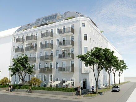 ++Projekt TG 17++ Premium 2-Zimmer ALTBAU-ERSTBEZUG mit 6m² Balkon, umfassend sanierter Altbau!