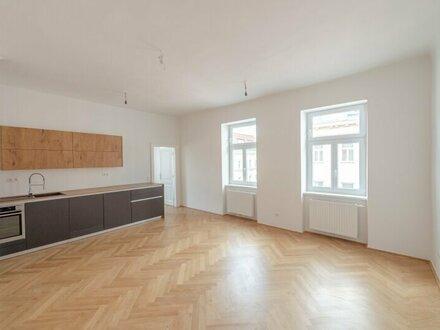 ++NEU++ Kernsanierte, großzügige 2-Zimmer ALTBAUwohnung, saniertes Haus! **optimaler Grundriss**
