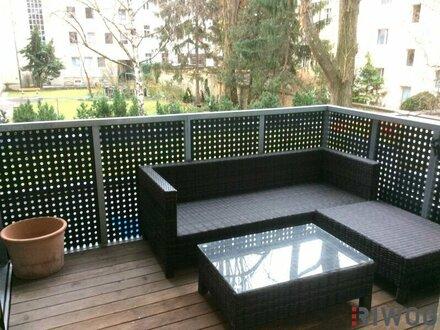 TOP-2-Zimmer Wohnung mit Balkon in Innenhoflage