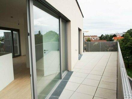 360°! Exklusive Terrassenmaisonette mit schönem Blick zum Kahlenberg!