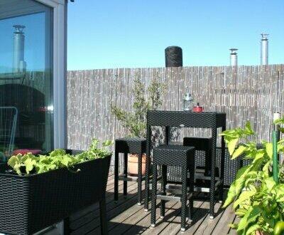 Like a dream! Sensationelle Drei-Zimmer-Wohnung im Dachgeschoß mit einmaliger Terrasse on Top!!!