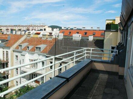 Großzügige Dachgeschosswohnung im 19. Bezirk zu vermieten