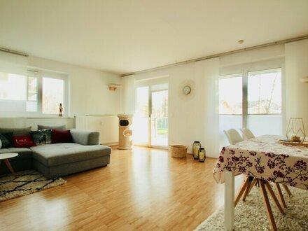 Große 2 Zimmer-Wohnung in Ruhelage an der Glan