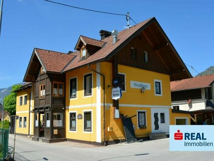 Traditionsgasthaus mit Gastgarten in Ebensee am Traunsee