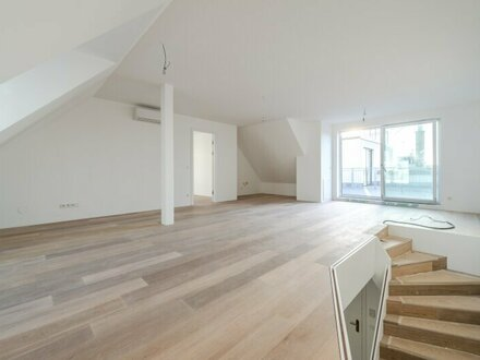++NEU++ Hochwertige 3-Zimmer DG-Maisonette, Erstbezug, riesige Dachterrasse! 2 Bäder, komplett sanierter Altbau!