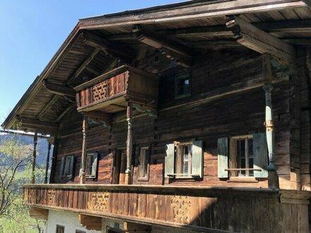 Original Kitzbüheler Bauernhaus Anno 1.693 !!