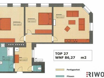 ++ Stil-Altbauwohnung mit Grünblick in wunderschönem ECKHAUS ++ perfekter Grundriss (3 Zimmer)