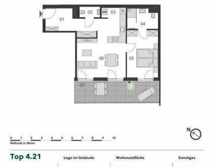 +++ LOGGIATRAUM! +++ NEUBAU 2 Zimmer Eigentumswohnung mit großer Loggia im Herzen von Margareten