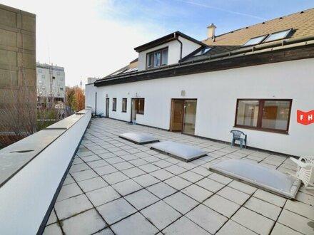 Klimatisiertes 2 Zimmer Neubau-Office mit 15 m² Sonnenterrasse