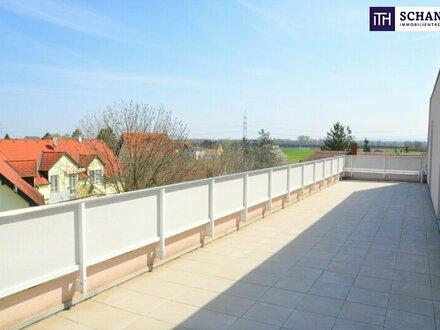 Dachterrassen-Traum in Münchendorf: Perfekte Raumaufteilung + 4-Zimmer + Blick ins Grüne + hochwertige Materialien!