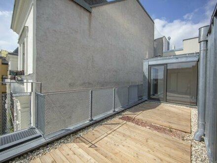 Exklusive Dachgeschosswohnung mit Terrasse zu vermieten - ERSTBEZUG!