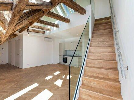 DACHERSTBEZUG - GALERIE Wohnung mit 63m² am FRANZISKANER PLATZ - 16 repräsentative DACHWOHNUNGEN - 1010 WIEN