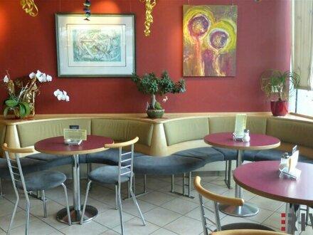 Gemütliches Cafe - voll ausgestattet