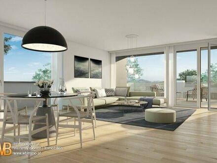 Erstbezug- DG Wohnung mit 98 m² mit 22 m² Terrasse