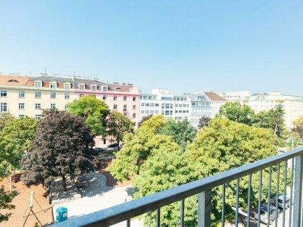 GRÜNER AUSBLICK! 2 Zimmer Wohnung mit Balkon! Nähe Augarten!