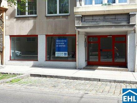 Geschäftsfläche auf der Linzerstraße zu mieten!