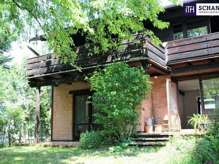 Hinterbrühl + Naturidylle + Südseitiges Traumgrundstück + Ausbaubares Einfamilienhaus