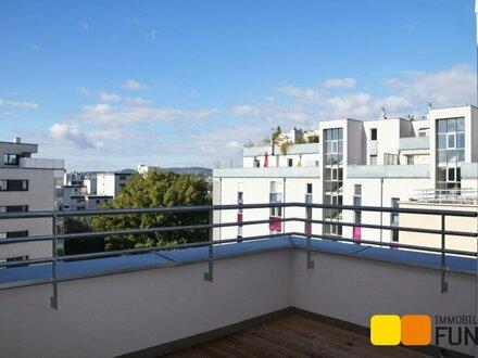 2-Zimmer-Dachterrassentraum nahe Donauufer