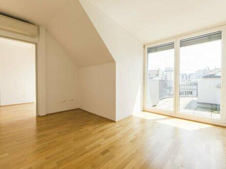 Schöne 3-Zimmer DG-Wohnung mit 2 Terrassen nahe zur Innenstadt in 1070 Wien - unbefristet zu mieten!