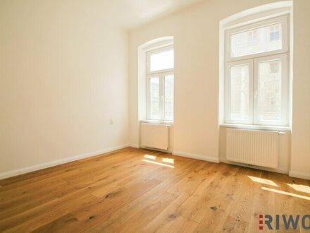 ** Best of THREE ** 2-Zimmer Altbau-Erstbezug mit Balkon und absoluter Ruhelage!!
