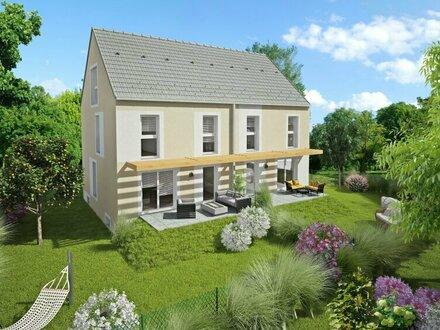 Hennersdorf, Doppelhaus, Lehner & Trompeter Bauträger