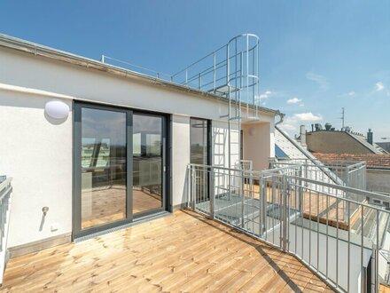 ++NEU** Großzügiger 2-Zimmer DG-ERSTBEZUG mit toller Terrasse! komplett sanierter Altbau!