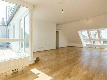 ++NEU++ Großzügiger 4-Zimmer DG-Erstbezug mit 30m² Dachterrasse, BESTLAGE in 1080!