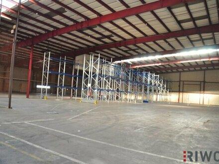 Lagerflächen von 500m² - 5.200m² mit LKW-Rampen