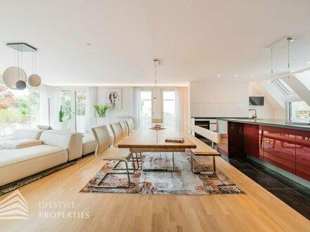 Designmöblierte 3-Zimmer Neubauwohnung in Sievering