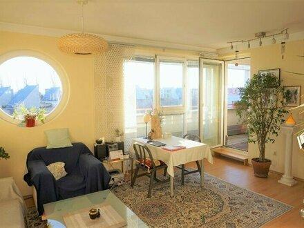 Lichtdurchflutete 1-Zimmer Terrassenwohnung im 23. Bezirk! Ab September 2018!