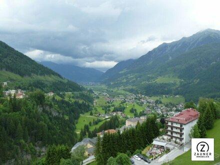 Bad Gastein: 4 Zimmer-Dachterrassenwohnung mit herrlichem Panoramablick
