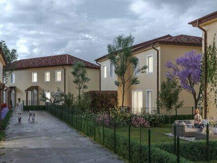 ACHTERSEE - Sonnige, exlusive & klimatisierte Doppelhäuser mit Toskana-Flair - HAUS 8 - MASSIVHAUS!