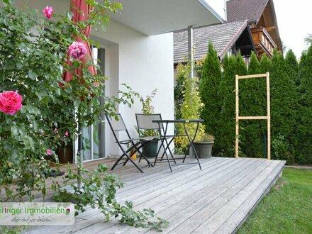 Schöne Aussichten: Moderne 4-Zimmer-Hausetage + Garten
