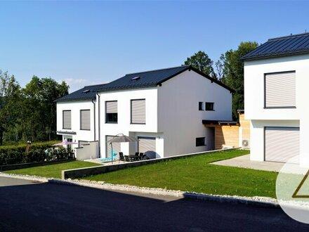 Traumhafte Doppelhaushälfte in sehr ruhiger Waldrand- Siedlungslage (nur noch ein Haus verfügbar)