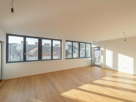++NEU** Hochwertiger 5-Zimmer DG-ERSTBEZUG mit riesiger Dachterrasse, toller Stilaltbau, gute Raumaufteilung! eine Ebene!!