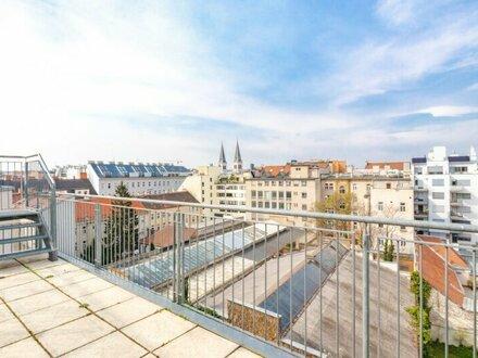 Sonnige Dachwohnung mit zwei Terrassen! Neubau! AB OKTOBER!