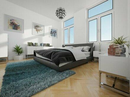 Rundum saniertes, traumhaftes Altbauhaus + Hofseitige Loggia! Große Altbauwohnung mit perfekter Raumaufteilung! Beste Infrastruktur…