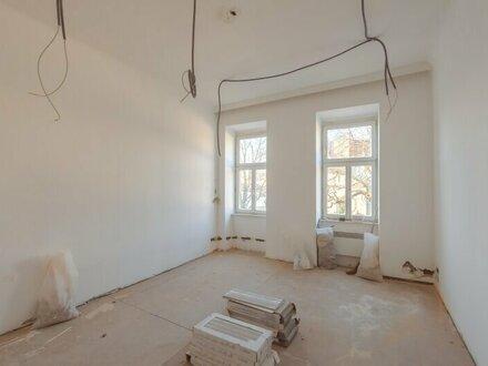 ++NEU** Sanierungsbedürftige 1-Zimmer Altbau-Wohnung in aufstrebender Lage!