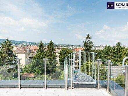 WOW! Phänomenaler Blick + 5-Zimmer + 150 m² Freiflächen + prachtvolle Wohnküche + Hietzinger Bestlage!