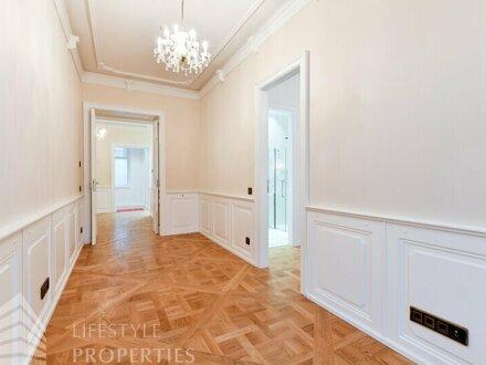 Luxuriöse 2-Zimmer-Altbauwohnung, Erstbezug im Herzen der Innenstadt
