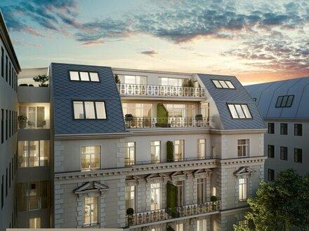 Traumwohnung im Palais mit unverbautem Traumblick in top Zentrumslage (Erstbezug)