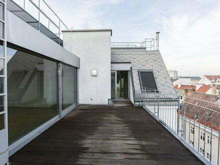Traumhafte DG-Wohnung mit Weitblick und Terrasse in 1020 Wien zu vermieten! VIDEO BESICHTIGUNG MÖGLICH!