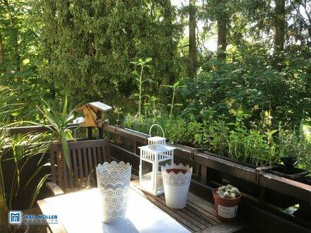 Parsch: Ruhige 4-Zimmer-Wohnung mit Park- und Gaisbergblick